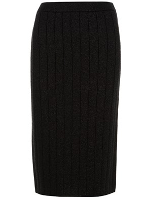 MARC JACOBS - BLACK LUREX SKIRT