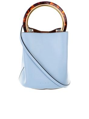 MARNI - LIGHT BLUE PANNIER BAG