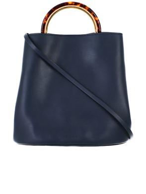 MARNI - BLUE PANNIER BAG