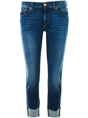 SEVEN FOR ALL MANKIND - BLUE RELAXED JEANS