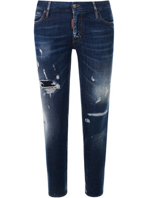 DSQUARED2 - JEANS SUPER SKINNY CROPPED
