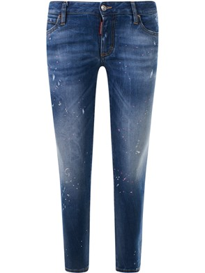 D.SQUARED - JEANS MD CROPPED TWIGGY