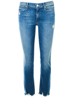 MOTHER - JEANS RASCAL ANKLE BLU