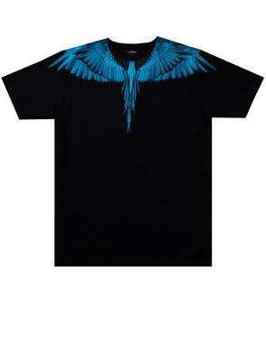 MARCELO BURLON - BLACK WINGS T-SHIRT