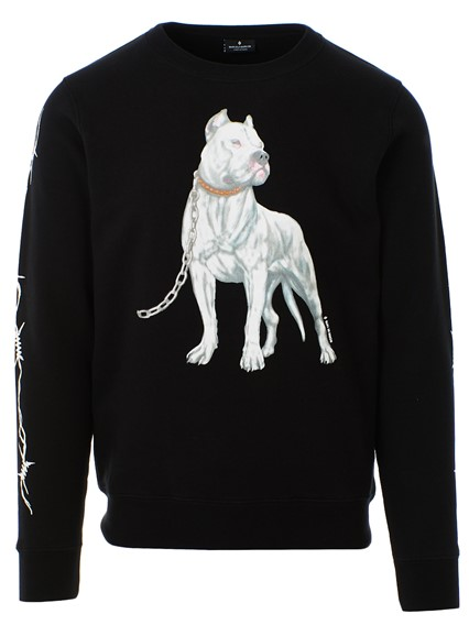 On Available Dogo Marcelo Sweatshirt County Burlon Milan Of Black q8gFOx