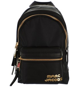 MARC JACOBS - GOLD-TONE METAL LOGO ON THE FRONT