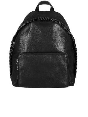 STELLA MC CARTNEY - BLACK BACKPACK