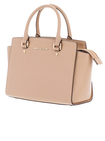 2d7fe2c0c8d6d michael michael kors BEIGE SELMA BAG available on lungolivigno.com ...