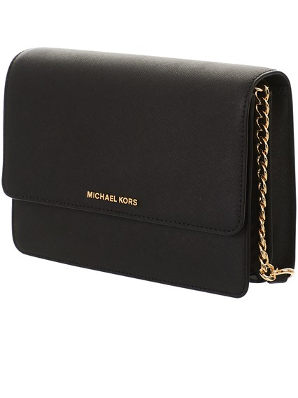bbe4662d38a7 michael michael kors BLACK CROSS GUSSET SMALL BAG available on ...