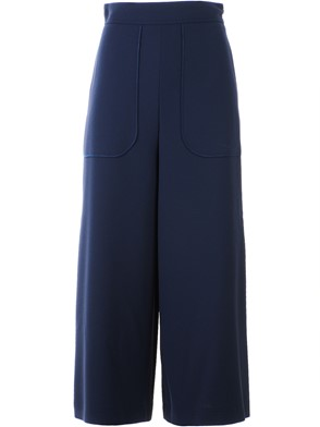 SEE BY CHLOE' - BLUE COULOTTE PANTS
