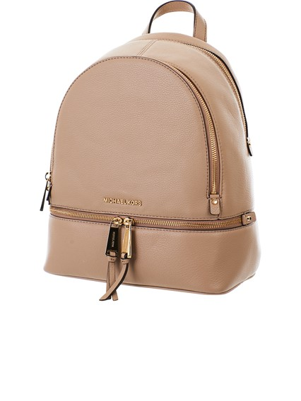 d550094a904b michael michael kors BEIGE RHEA BACKPACK available on lungolivigno ...