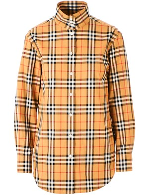 BURBERRY - BROWN STARLING SHIRT