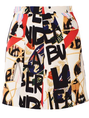 BURBERRY - MULTICOLOR STANFORTH SKIRT
