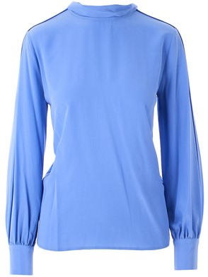CLOSED - BLUE BLOUSE