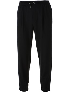 McQ BY ALEXANDER MCQUEEN - BLACK TAILORED PANTS