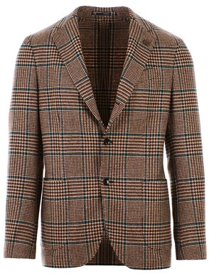 LARDINI - GREEN AND BROWN BLAZER