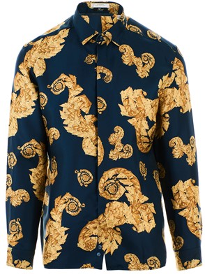 VERSACE COLLECTION - BLUE SHIRT