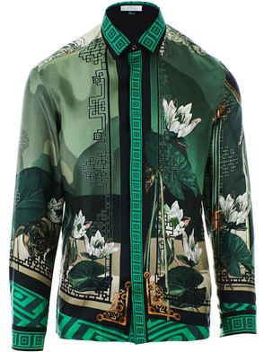 VERSACE COLLECTION - GREEN SHIRT