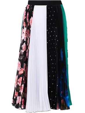 MSGM - LONG MULTICOLOR SKIRT