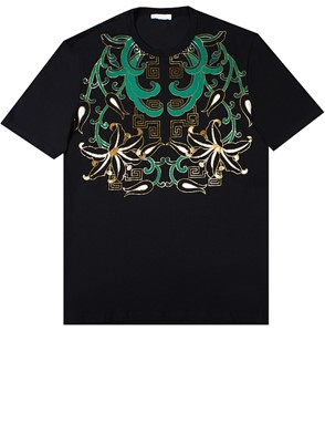 VERSACE COLLECTION - BLACK T-SHIRT