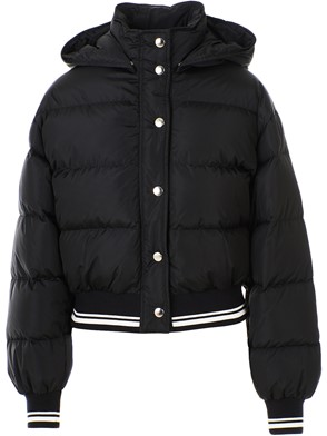 MSGM - BLACK BOMBER JACKET