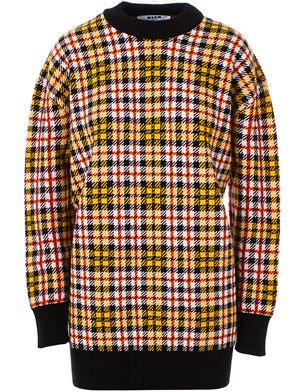 MSGM - LONG MULTICOLOR SWEATER