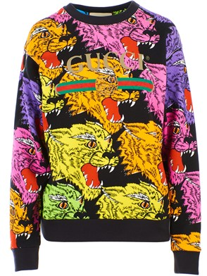 GUCCI - MULTICOLOR TIGERS SWEATSHIRT