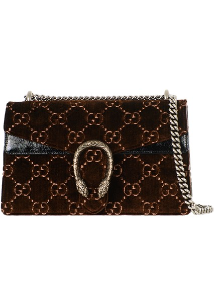 459d2d324e5 gucci BROWN VELVET RED GG SUPREME DIONYSUS BAG available on ...