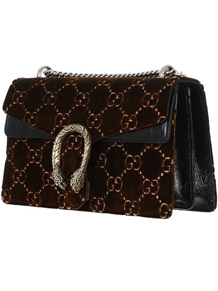 988c1e3b06d gucci BROWN VELVET RED GG SUPREME DIONYSUS BAG available on ...