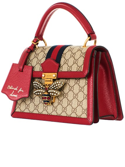 399a6d5fabf gucci SMALL RED GG SUPREME QUEEN MARGARET BAG available on ...