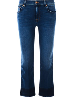 SEVEN FOR ALL MANKIND - JEANS CROPPED BOOT UNROLLED