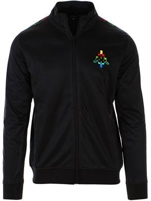 MARCELO BURLON COUNTY OF MILAN - MULTICOLOR KAPPA LEATHER EMBROIDRED ON BOTH SIDES