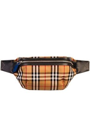 BURBERRY - MEDIUM BUM BAG VINTAGE CHECK PATTERN