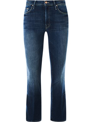 MOTHER - JEANS OUTSIDER ANKLE BLU