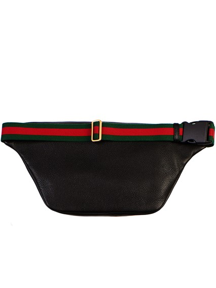 cfb840b22c18 gucci BLACK BUM BAG available on lungolivigno.com - 25771