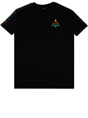 MARCELO BURLON COUNTY OF MILAN - BLACK KAPPA T-SHIRT