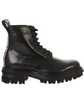 D.SQUARED - BLACK COMBAT BOOTS