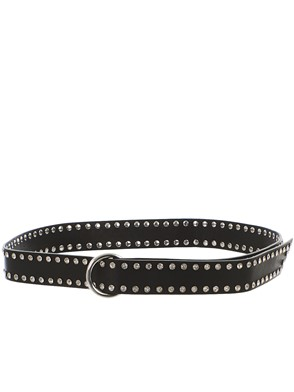 B-LOW THE BELT - BLACK MIA MOTO BELT