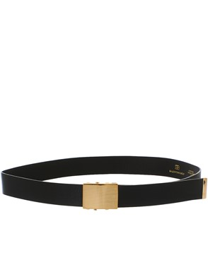 B-LOW THE BELT - BLACK BRAXTON BELT