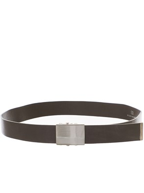 B-LOW THE BELT - GREY BRAXTON BELT