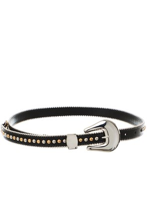 B-LOW THE BELT - BLACK BARCELONA BELT