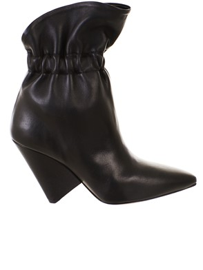 ISABEL MARANT - LEATHER ANKLE BOOTS