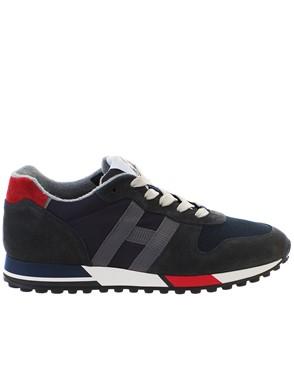 HOGAN - BLUE H383 NEW RUNNING SNEAKERS