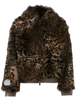 STELLA MC CARTNEY - LEOPARD JACKET