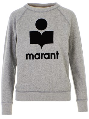 ISABEL MARANT - GREY SWEATSHIRT