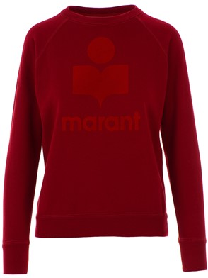 ISABEL MARANT - RED SWEATSHIRT