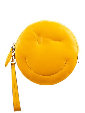 ANYA HINDMARCH - YELLOW CLUTCH