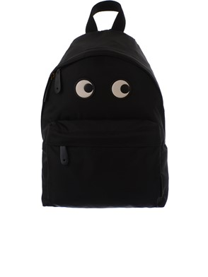 ANYA HINDMARCH - BLACK BACKPACK