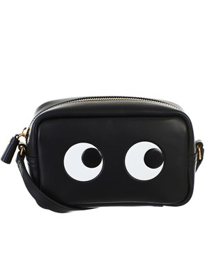 ANYA HINDMARCH - BLACK MINI BAG