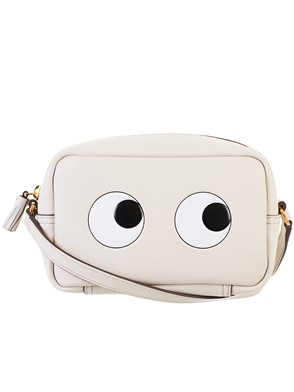 ANYA HINDMARCH - WHITE MINI BAG